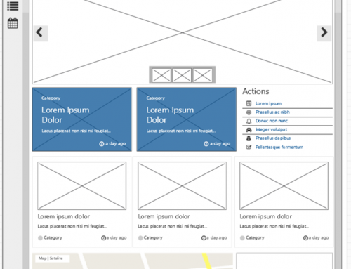 Wireframing BindTuning Intranet Pages on SharePoint with Balsamiq
