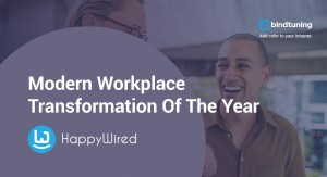 BindTuning Modern Workplace Transformation of the Year 2018 Award