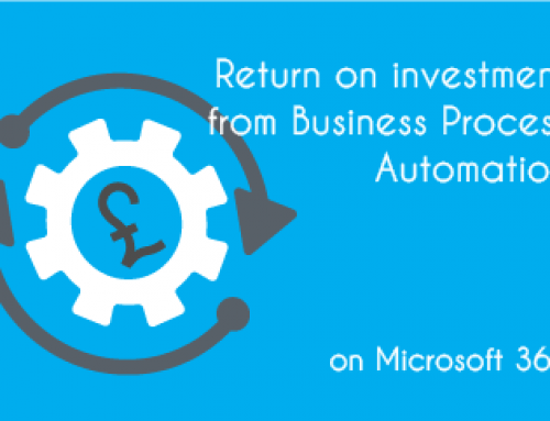 Return on investment from Business Process Automation