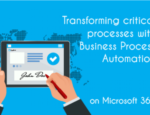 Transform critical processes with Business Process Automation